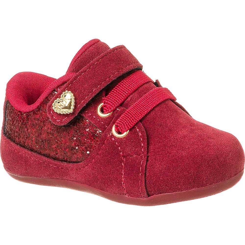 6a94869864 Sapato Infantil Feminino Klin Cravinho Funny Nobuck - Compre Agora ...