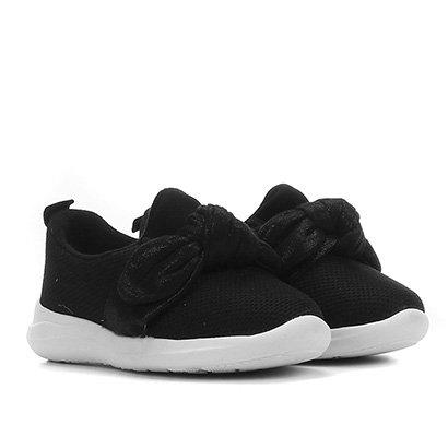 Sapato Infantil Molekinha Laço Feminino