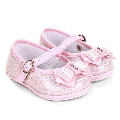 Sapato Infantil Pimpolho Glitter Feminino