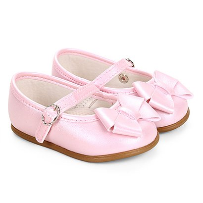 Sapato Infantil Pimpolho Laço Feminino