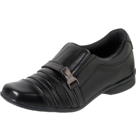 Sapato Infantil Social Menino Casual Macio Redmax - Preto