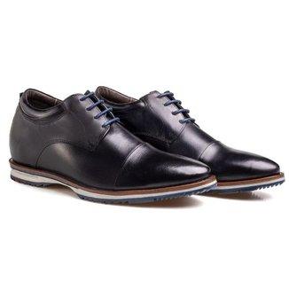 Sapato Inglês Masculino Rafarillo Palmilha De Elevação Couro
