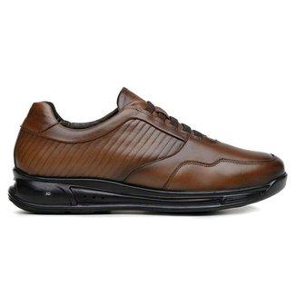 Sapato Jota Pe Marrom 3d Air Evolution 78005