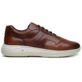 Sapato Jota Pe Marrom 3d Air Evq 80150