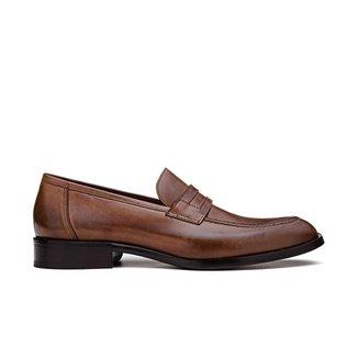 Sapato Loafer Masculino Élie Al Bidya Tan