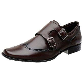 Sapato MAH Tebas Social Couro Oxford Clássico Masculino