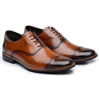Sapato MAH York Social Inglês Couro Masculino