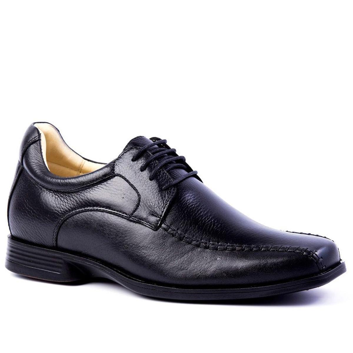 5494 Doctor 7 alto Floater em Shoes cm Couro Up Preto Masculino Linha Sapato nwaqvpYv