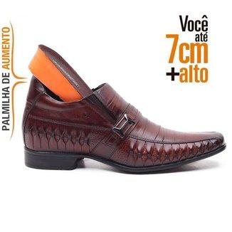 Sapato Masculino Alth Rafarillo Em Couro 36261 Mogno 1516