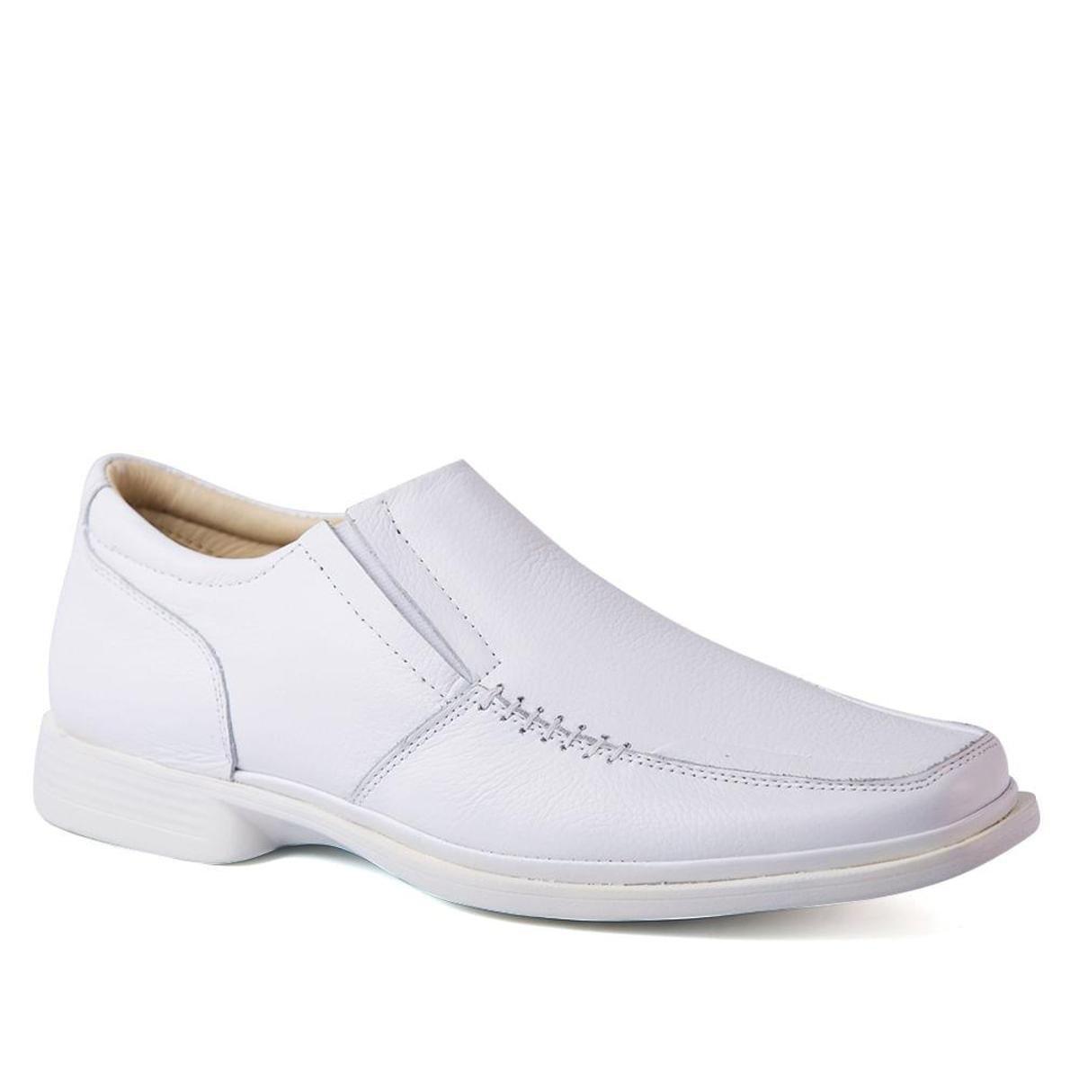 87b4229610 Sapato Masculino Anti Impacto 549201 em Couro Floater Doctor Shoes | Zattini