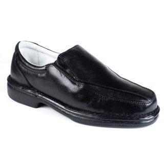 Sapato Masculino Confort Pele Carneiro Palmilha Massageadora Ranster