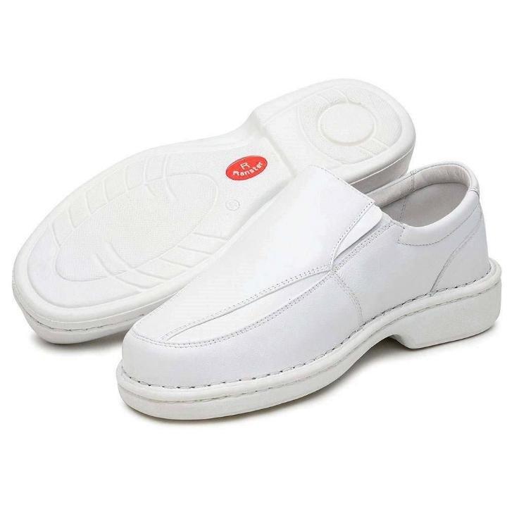 Palmilha Carneiro Carneiro Pele Masculino Palmilha Confort Pele Sapato Sapato Branco Masculino Confort Massageadora Ranster vwqpCndWC