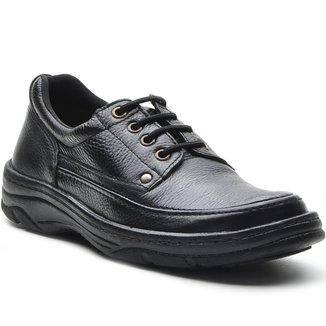 Sapato Masculino Conforto Cadarco Preto