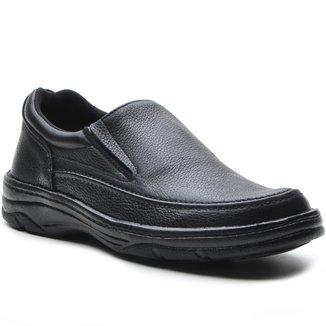 Sapato Masculino Conforto Elastico Preto