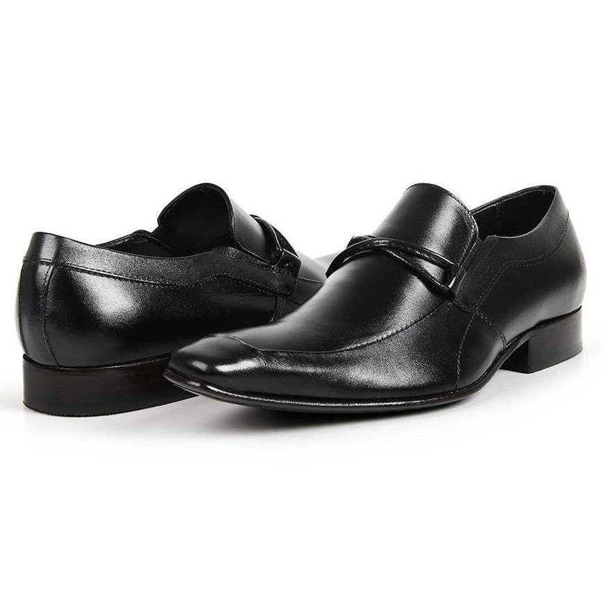 Sapato Masculino Estilo Italiano Bigioni - Preto