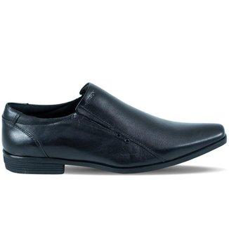 Sapato Masculino Ferracini Liverpool Napa de Couro Preto