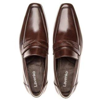 Sapato Masculino Fly Penny Loafer 1044 Café