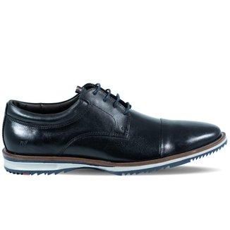 Sapato Masculino Rafarillo Liverpool de Couro Vegetal Preto