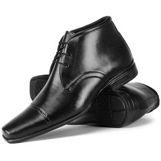 Sapato Masculino Social Cano alto Confortável