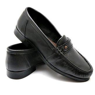 Sapato Masculino Social Coiote Mocassim Couro