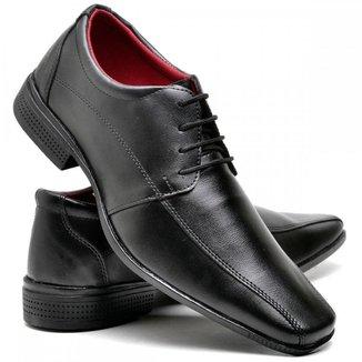 Sapato Masculino Social Confort Preto