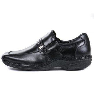 Sapato Masculino Social De Couro Conforto