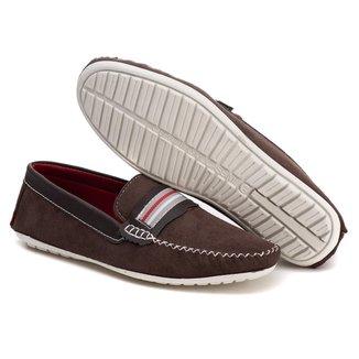 Sapato Mocassim Drive c/ Faixa Tchwm Shoes