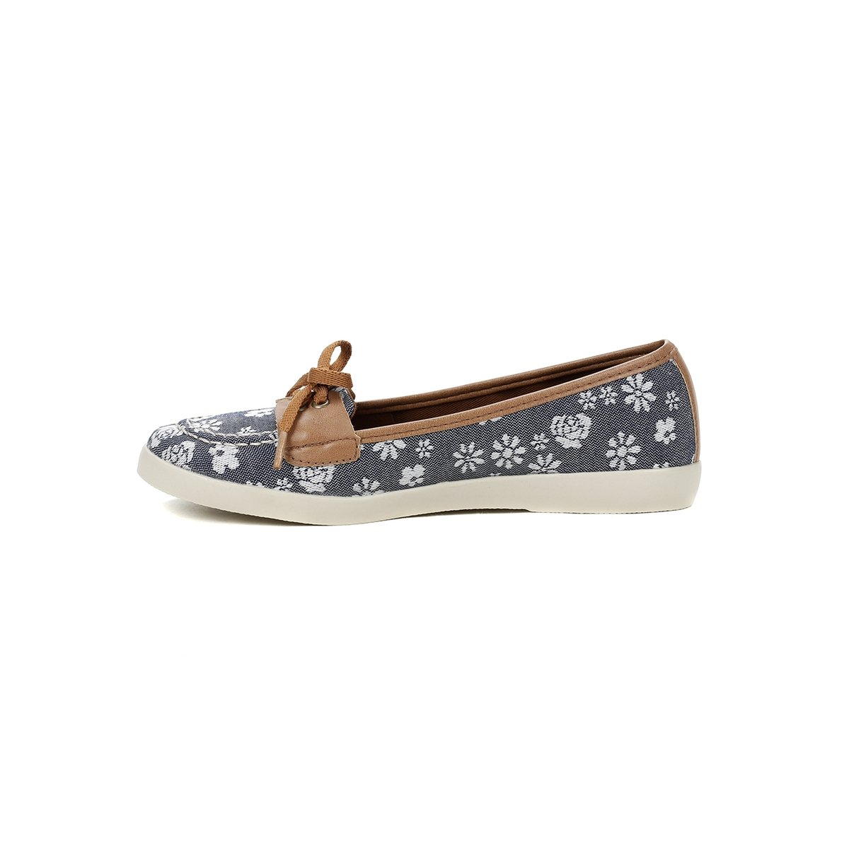Azul Sapato marrom Azul Feminino e Sapato Mocassim Mocassim Marrom qwpCqUgT