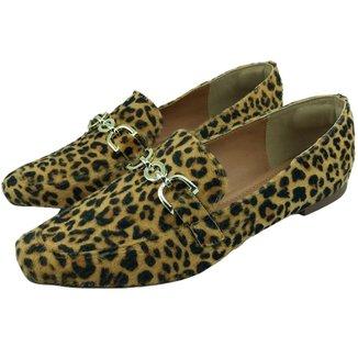 Sapato Mocassim Feminino Donatella Shoes Abs na Cor do Calçado