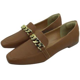 Sapato Mocassim Feminino Donatella Shoes Corrente