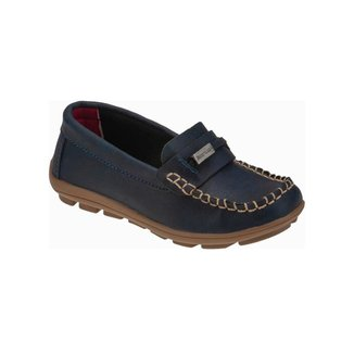 Sapato Mocassim Infantil Metal Casual Moderno Minipasso Masculino