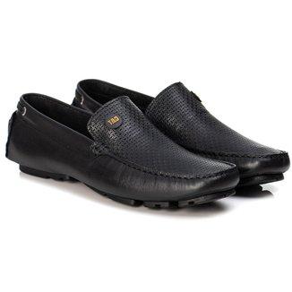 Sapato Mocassim Masculino em Couro