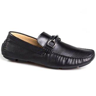 Sapato Mocassim Rafarillo Couro Masculino Arpoador 42010-05