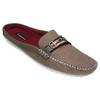 Sapato Mule Masculino Shoes Lancamento Bege