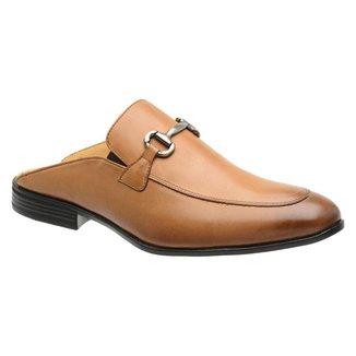 Sapato Mule Slipper Malbork Couro Masculino