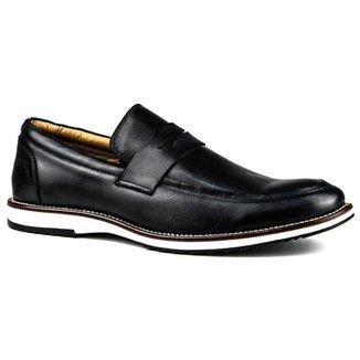 Sapato Oldsen Loafer em Couro Masculino