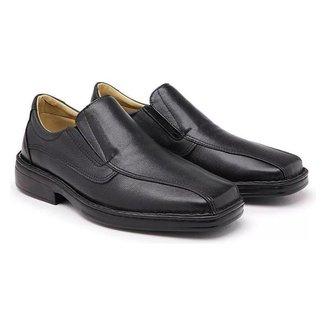 Sapato Ortopédico Masculino Conforto Preto 1002