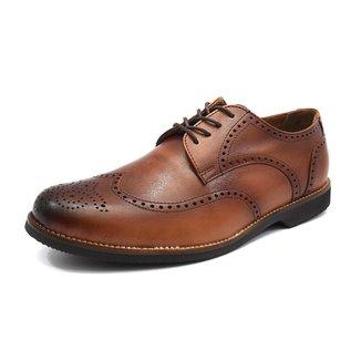 Sapato Oxford Couro Masculino Shoes Grand Conforto Dia Dia