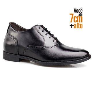 Sapato Oxford Inglês Você Mais Alto Rafarillo Couro Casual