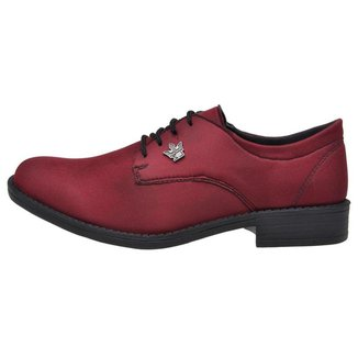 Sapato Oxford Masculino Amarração Elegante Contorto Casual