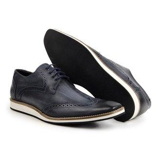 Sapato Oxford Masculino Bigi516 Marinho