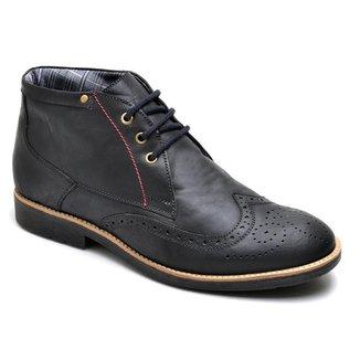Sapato Oxford Masculino Couro Leve Macio Confortável Casual