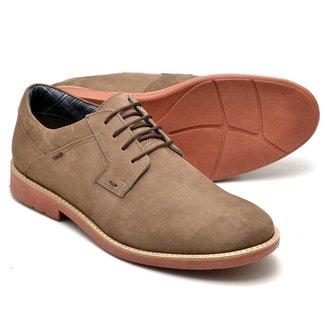 Sapato Oxford Masculino Couro Macio Leve Confortável Casual