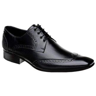 Sapato Oxford Masculino em Couro Bigioni