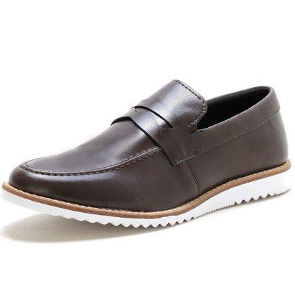 Sapato Oxford Masculino Social Esporte Fino Ingles Marrom Copia
