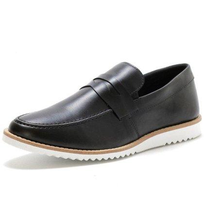Sapato Oxford Masculino Social Esporte Fino Ingles Marrom Preto