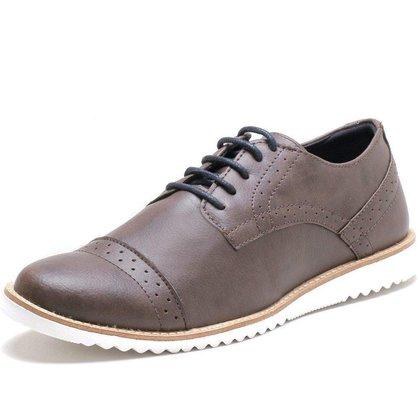 Sapato Oxford Masculino Social Esporte Fino Ingles Marrom
