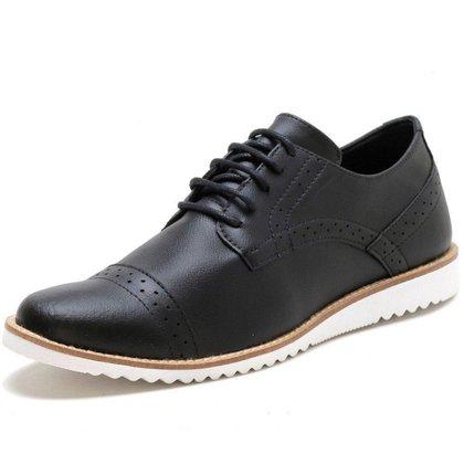 Sapato Oxford Masculino Social Esporte Fino Ingles Preto
