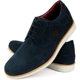 Sapato Oxford Mr. Light Couro Masculino Conforto Moderno