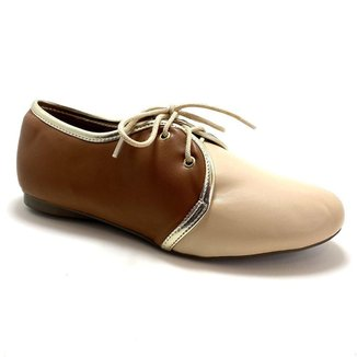 Sapato Oxford Napa Amêndoa o Vegano  Strax